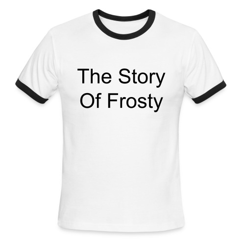 The Story Of Frosty - Men's Ringer T-Shirt