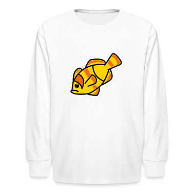 White clown fish nemo left Kids' Shirts