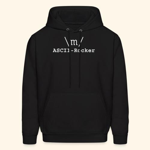 ASCII-Rocker - Men's Hoodie