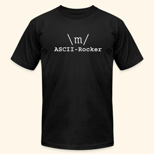 ASCII-Rocker - Men's Fine Jersey T-Shirt