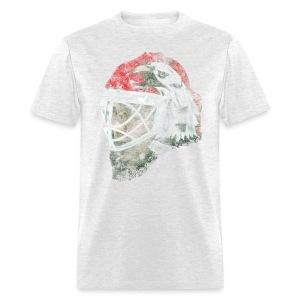 Chicago Eagle Goalie Mask Men's Standard Weight T-Shirt - Men's T-Shirt