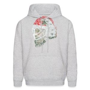 Chicago Eagle Goalie Mask Men's Hooded Sweatshirt - Men's Hoodie