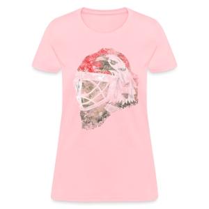 Chicago Eagle Goalie Mask Women's Standard Weight T-Shirt - Women's T-Shirt