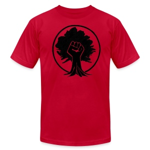 Power tree. - Men's Fine Jersey T-Shirt