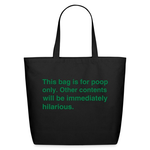 Poop Tote - Eco-Friendly Cotton Tote