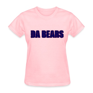 Da Bears Stitched Style Women's Standard Weight T-Shirt - Women's T-Shirt