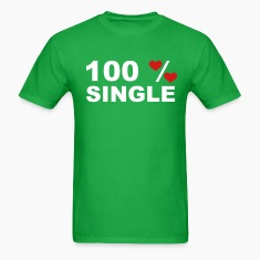 Bright green 100% Single T-Shirts