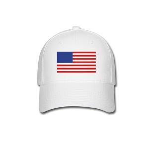 AMERICAN FLAG HAT (SIMPLE) - Baseball Cap