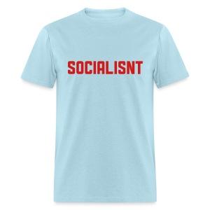 Socialisnt Shirt (blue) - Men's T-Shirt
