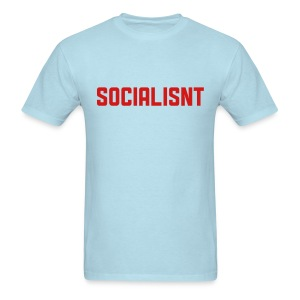 Socialisnt Shirt (blue) - Men's T-Shirt