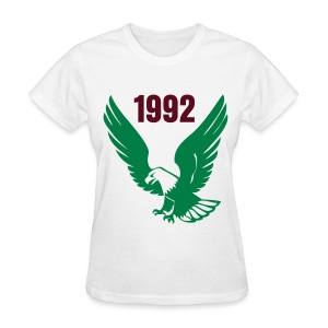 SLA 1992 Eagle Shirt (Words  On Back Also) - Women's T-Shirt