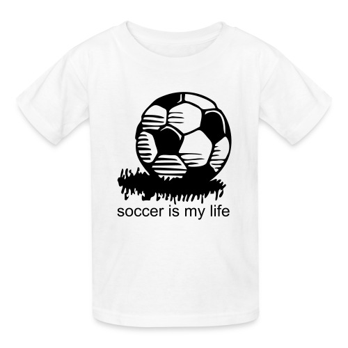 SOCCER IS MY LIFE Kids' Tee - Kids' T-Shirt