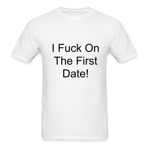 First Date - Men's T-Shirt