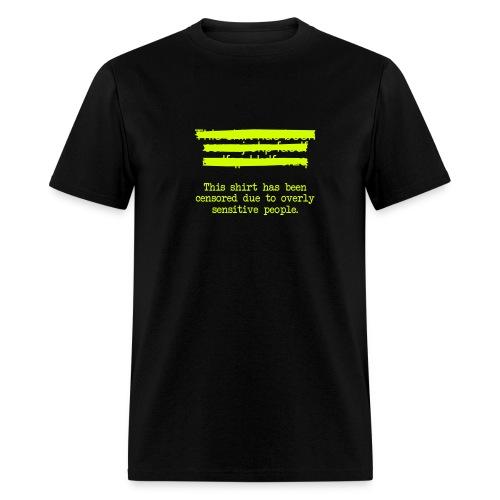 censoredshirt - Men's T-Shirt