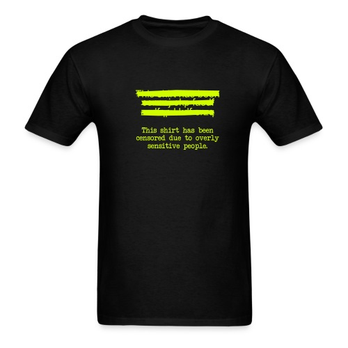 censoredshirt - Men's T-Shirt