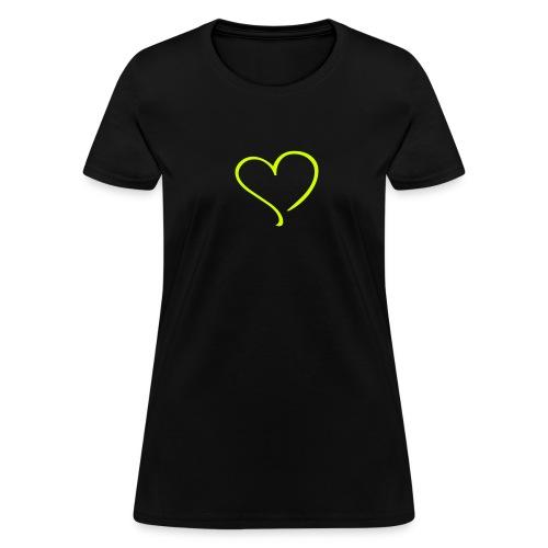 Neon Heart - Women's T-Shirt