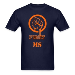 Men's Multiple Sclerosis Fight MS T-Shirt - Men's T-Shirt