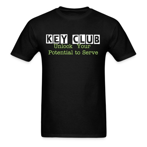 Key Club Potential - Men's T-Shirt
