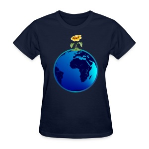 Earth N Flower - Women's T-Shirt