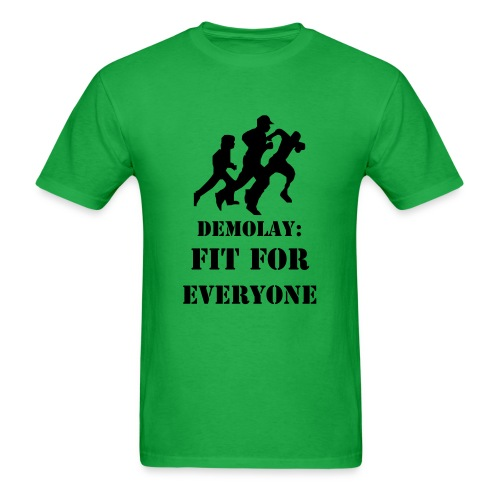 DeMolay Fit For Everyone Tee - Men's T-Shirt