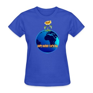 Happy Mother Earth Day - Women's T-Shirt