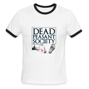 DEAD PEASANT SOCIETY - Men's Ringer T-Shirt