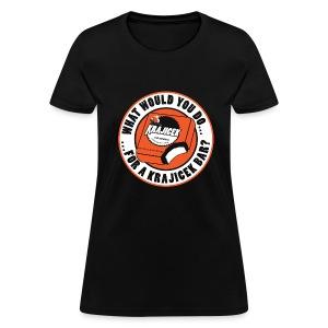 What would you do for a Krajicek bar? - Women's T-Shirt