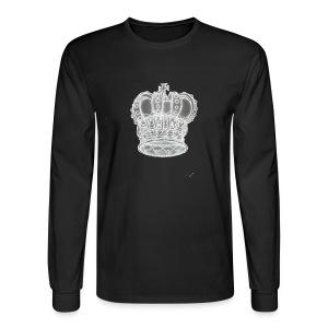Exclusive Royal Crown - Men's Long Sleeve T-Shirt
