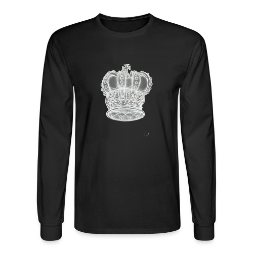 Exclusive Royal Crown - Men's Long Sleeve T-Shirt