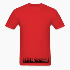 Red flame T-Shirts