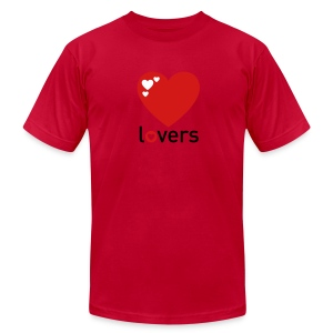 Lovers T-Shirt (Men's) - Men's T-Shirt by American Apparel