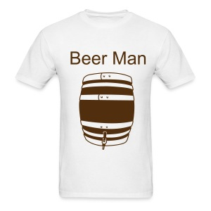 Men's T-Shirt - Beer Man with keg