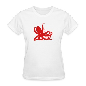 White Octopus Women's T - Women's T-Shirt