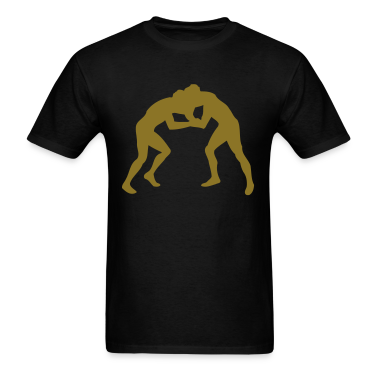 Black wrestling T-Shirts