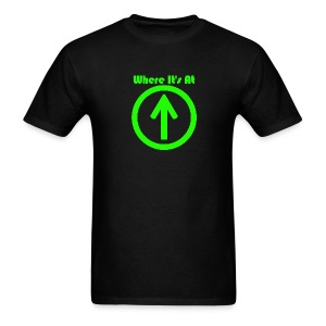 where it's at - Men's T-Shirt