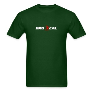 BRO-CAL Boardrider S/S Forest Green T-Shirt - Men's T-Shirt