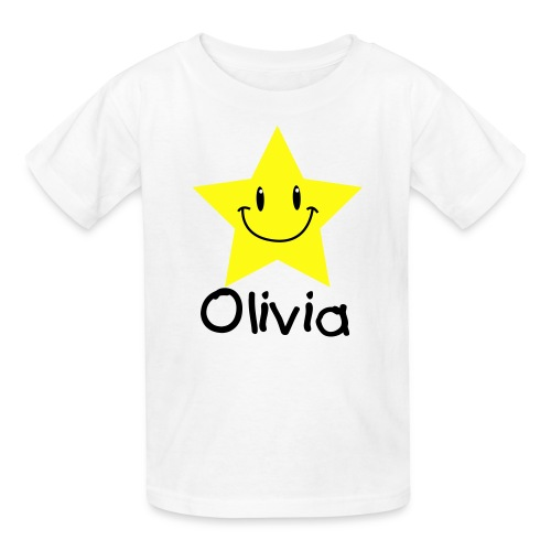 CUSTOM SMILING STAR TEE - Kids' T-Shirt