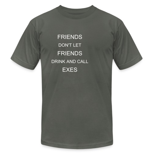 Drink and call exes Tee - Men's Fine Jersey T-Shirt