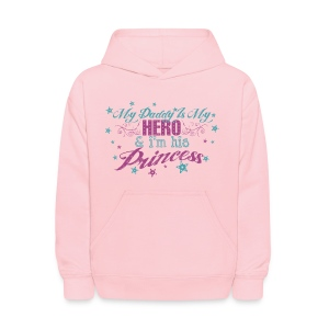 Daddy Is My Hero - Kids' Hoodie