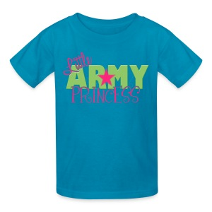 Little Army Princess - Kids' T-Shirt