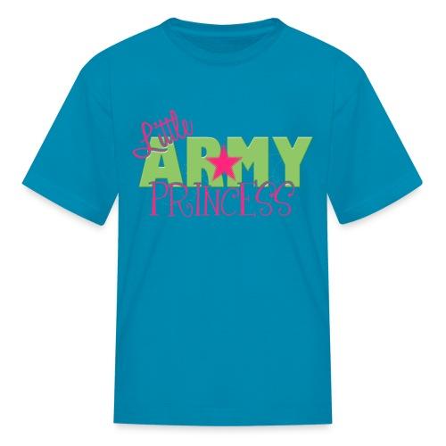 Little Army Princess - Kids' T-Shirt