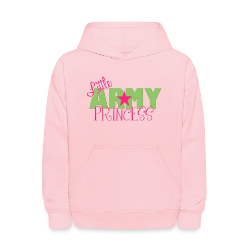 Little Army Princess - Kids' Hoodie
