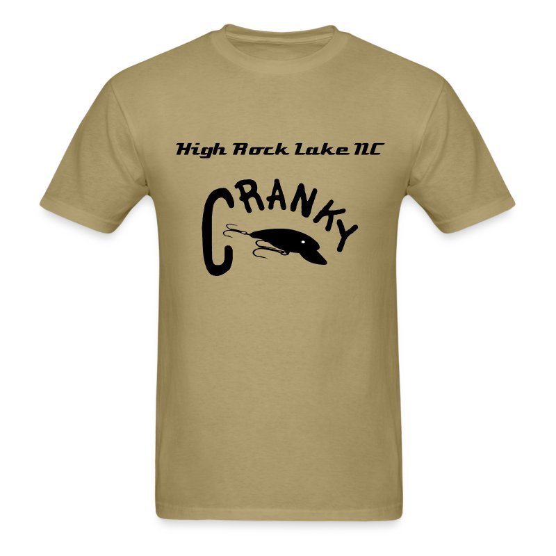 Men's Cranky High Rock  - Men's T-Shirt