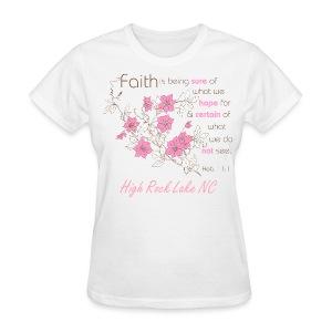 Women's Pink Flower Shirt - Women's T-Shirt