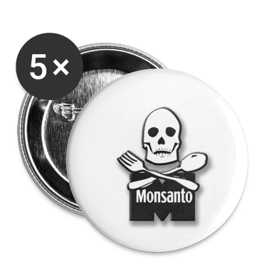 Monsanto bones knife and fork buttons