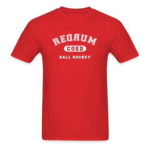 Customizable Redrum Jersey with Number - Men's T-Shirt