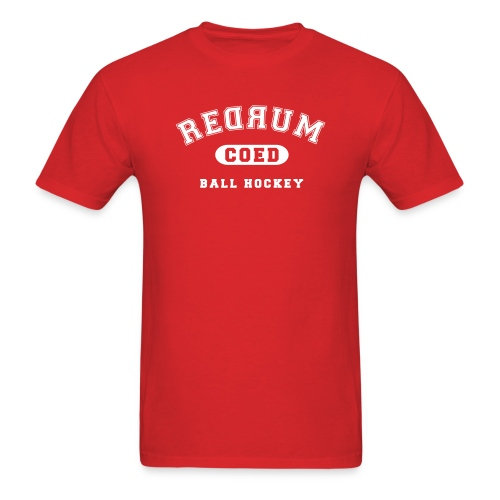 Customizable Redrum Jersey with Name & Number - Men's T-Shirt