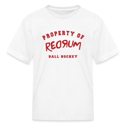 Customizable Property of Redrum Kids Tee - Kids' T-Shirt