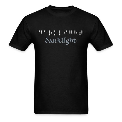 darklight braile  - Men's T-Shirt