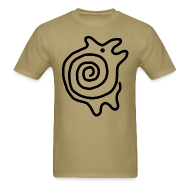 T-Shirts ~ Men's T-Shirt ~ Pictofiti Spiral Animal